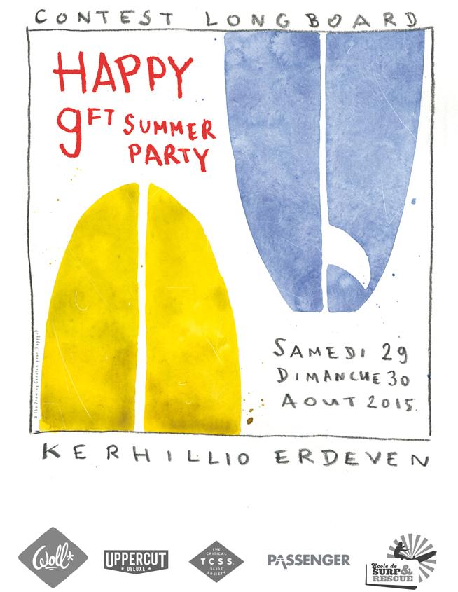 Happy Summer Party aura lieu à Erdeven sur la plage de Kerhillio le samedi 29 et dimanche 30 aout